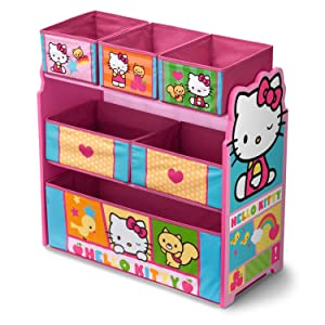 toy, box, bin, storage, playroom, play, room, sanrio, hello, kitty