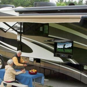 RV Satellite Dish
