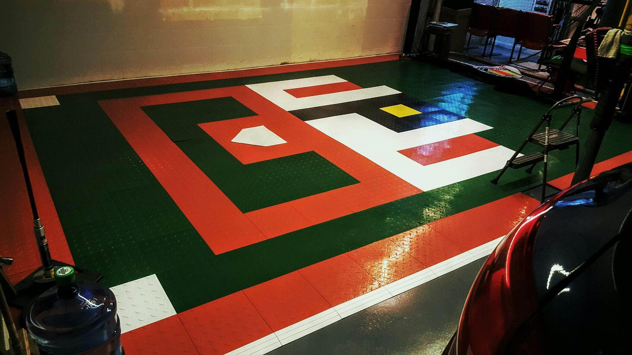 view larger - Interlocking Garage Floor Tiles