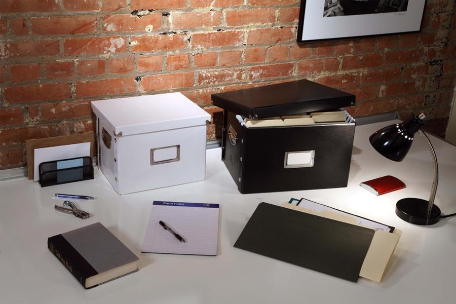 Amazon.: Snap N Store Letter Size File Box, Black (SNS01533