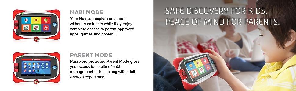 Amazon Com Nabi Junior Learning Tablet For Kids Snbjr Mt5c Toys Games