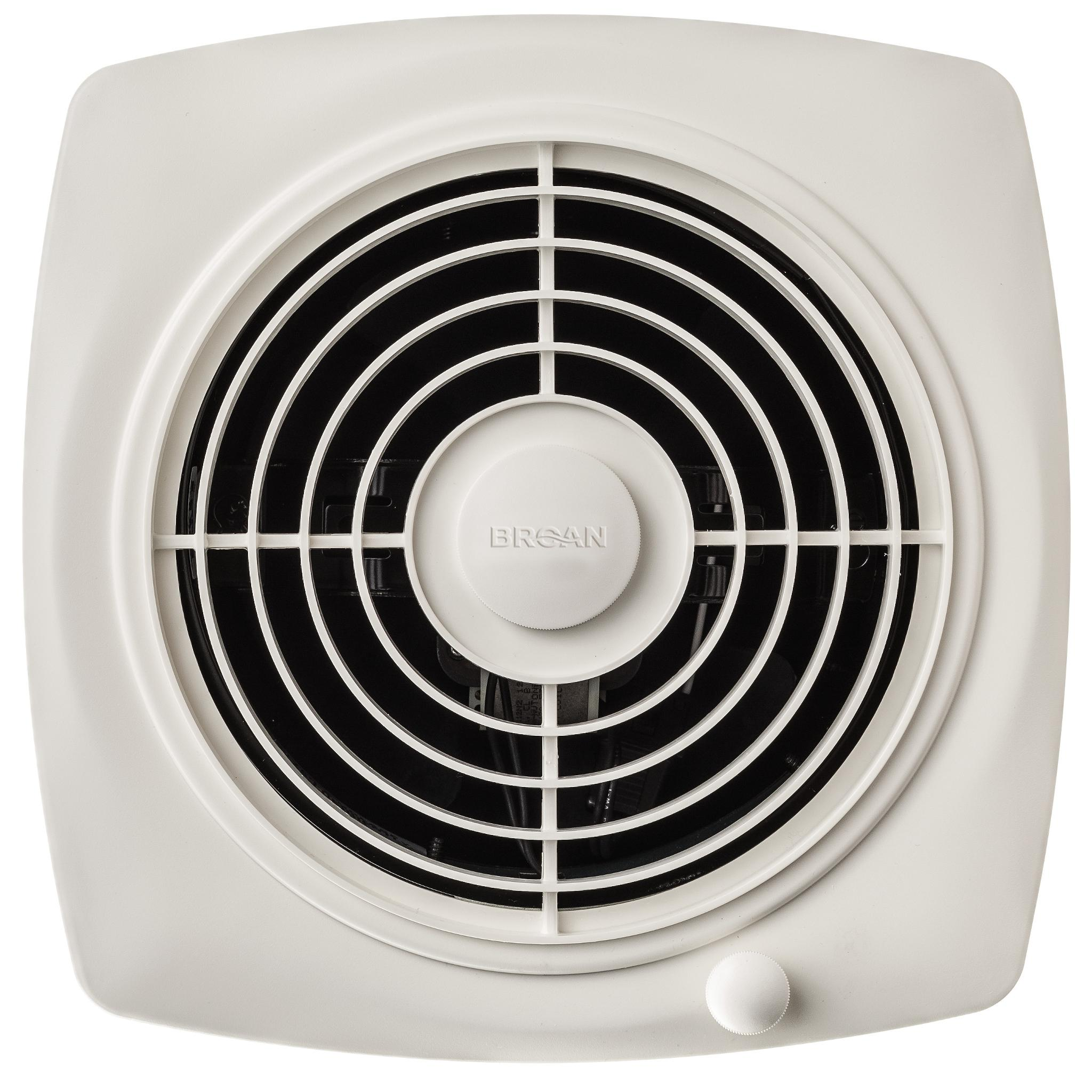 Broan 509 Through Wall Fan 180 Cfm 6 5 Sones White