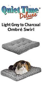 QuietTime Deluxe Ombre Swirl Pet Bed