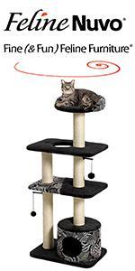 Feline Nuvo Cat Tower