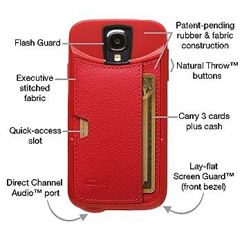 Amazon.com: Samsung Galaxy S4 Wallet Case – CM4 Q Card Case ...