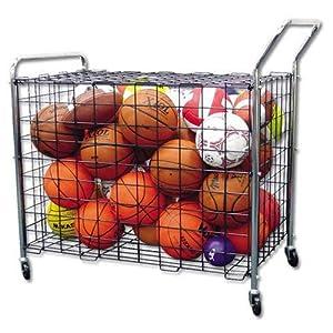 sports locker, sports storage, mobile storage sports, basketball, soccer, football, playground ball