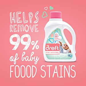 baby stain remover, stain remover for baby clothes, hypoallergenic laundry detergent