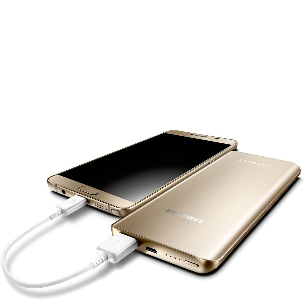 Uses For Gold Electronic : Samsung fast charge mah battery pack gold amazon