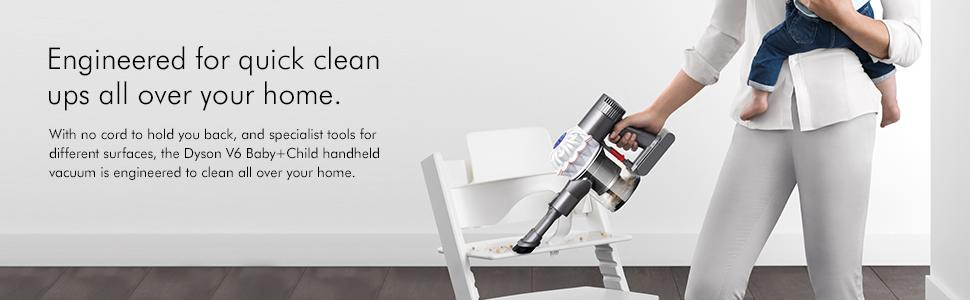 no cord specialist tools quick pick ups dyson handheld vacuum cleaner