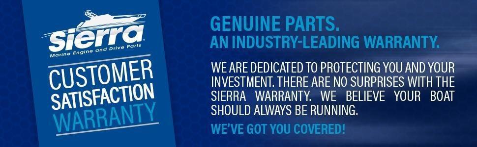 Sierra International 18-15410 Marine V-Belt