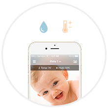 Baby Monitor With Temperature & Humidity