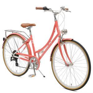 Venus Seven-Speed Women's City Bike Drivetrain