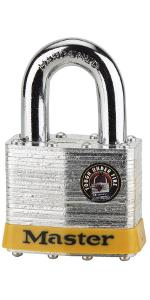 Master Lock 17DPF Laminated Steel Security Padlock ASIN B00004Y8CS