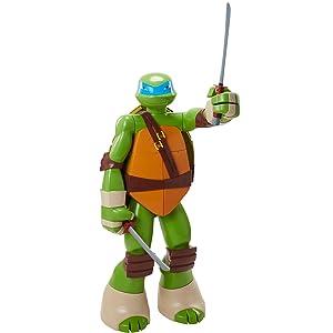 Teenage Mutant Ninja Turtle Leonardo in Army Gear Action FigureCamo Ninja TurtleCollectible FigureChilds ToyVintage 1991 Collectible