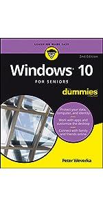 Windows 10, Windows 10 For Dummies, Windows 10 For Seniors, Windows 10 Anniversary Update