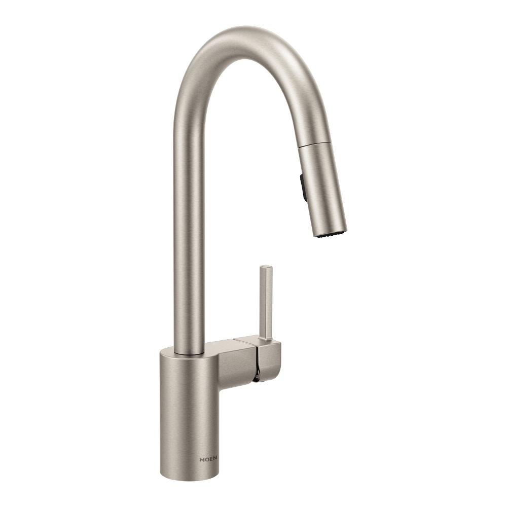 chrome faucet com single handle sink classic touch dp kitchen on faucets dst delta amazon