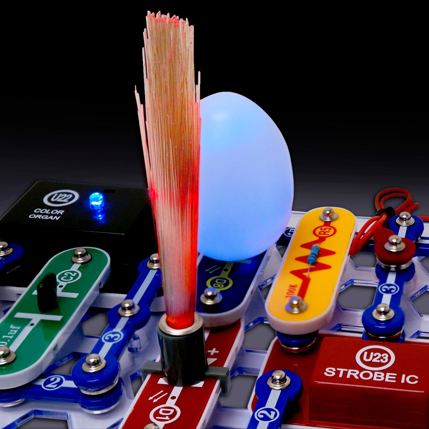 Elenco Snap Circuits Lights Scl 175 Electronics Kits Amazon Canada Emergency Lamp Circuit With Maximum Features Electronic View Larger