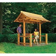 Sheltered Swing, Carpentry