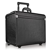 Hard-sided Solo New York Grand Central Attaché Case with Dual Combination Locks