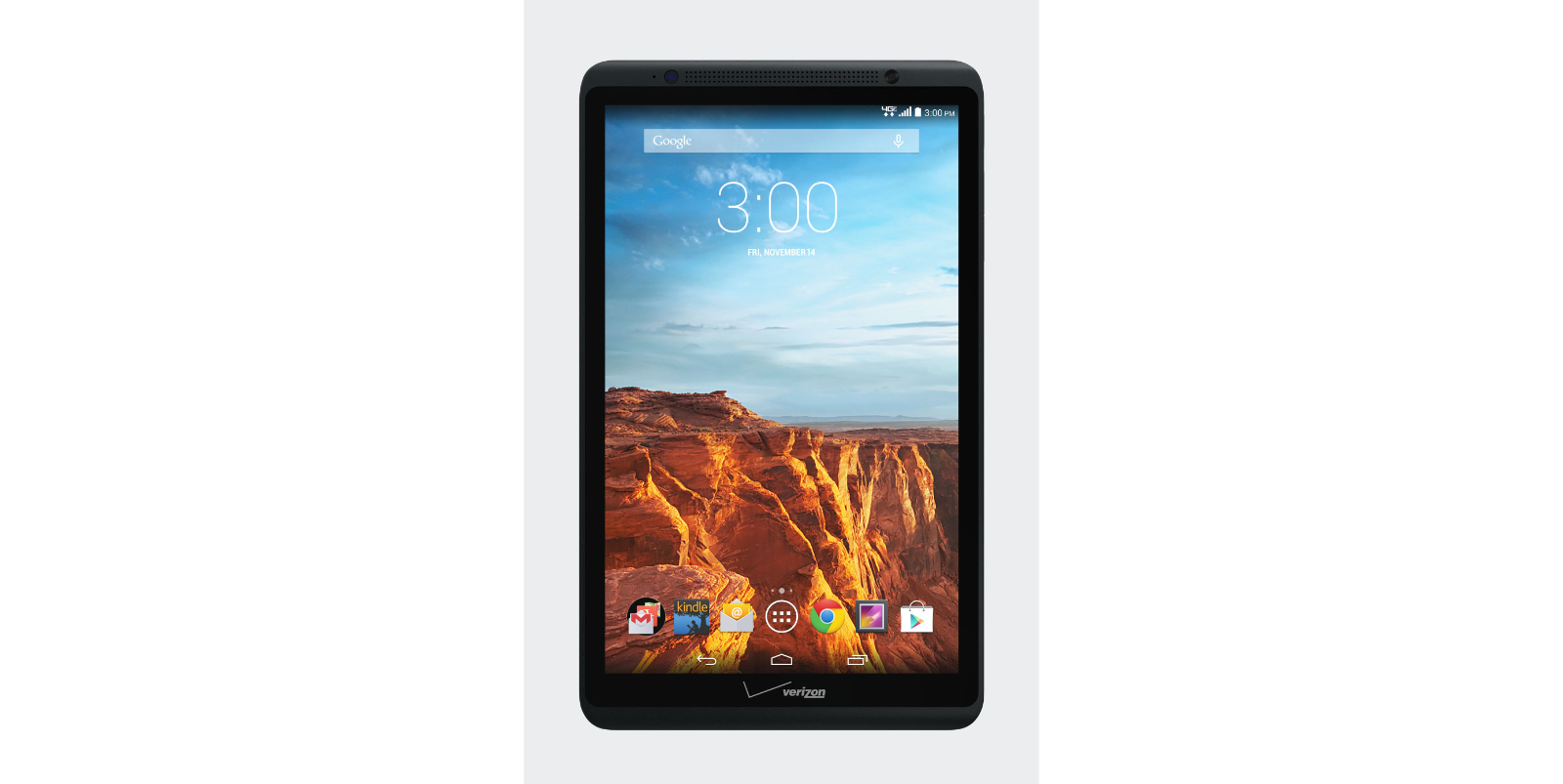 Black - 16GB Ellipsis 8 Tablet Verizon WiFi + Cellular