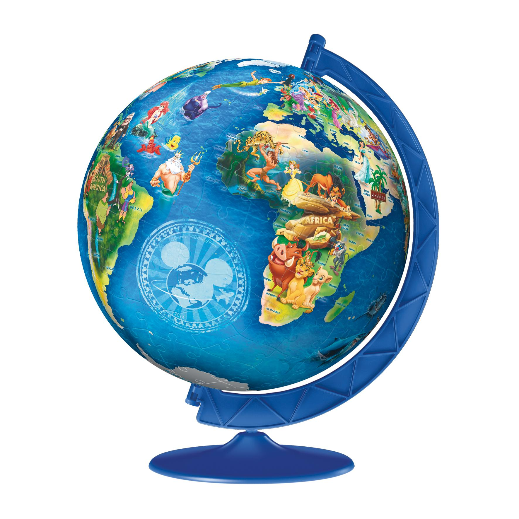 Ravensburger 3d puzzle disney globe 180 pc amazon toys games from the manufacturer gumiabroncs Choice Image