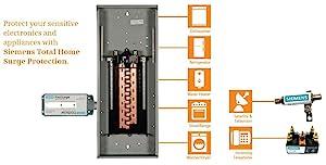 SIEMENS FS140 Surge Protection Device,140kA Lightning