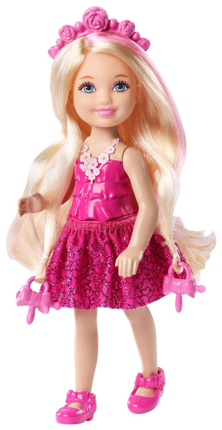 Tiny blonde teen barbie doll assured