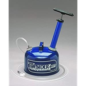 Topsider Oil Changer Suction Transfer Pump Fluid Extractor Changer Boat Engine