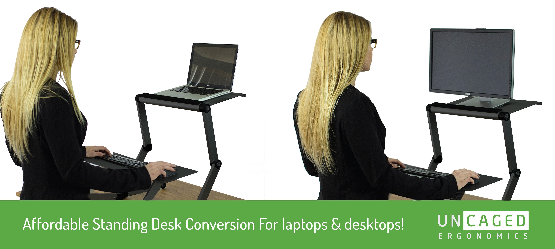 Amazon Com Workez Standing Desk Converter For Laptops