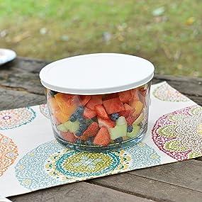 anchor hocking; glass; party bowl; trifle bowl; salad bowl; dessert bowl;