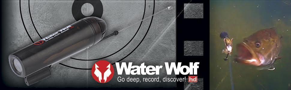 Water Wolf NEW HD Inline Underwater Camera 10 Piece Kit By Okuma UW1.1 51646