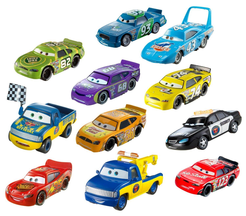 Amazon Com Disney Pixar Cars Diecast 11 Pack Car Collection Toys