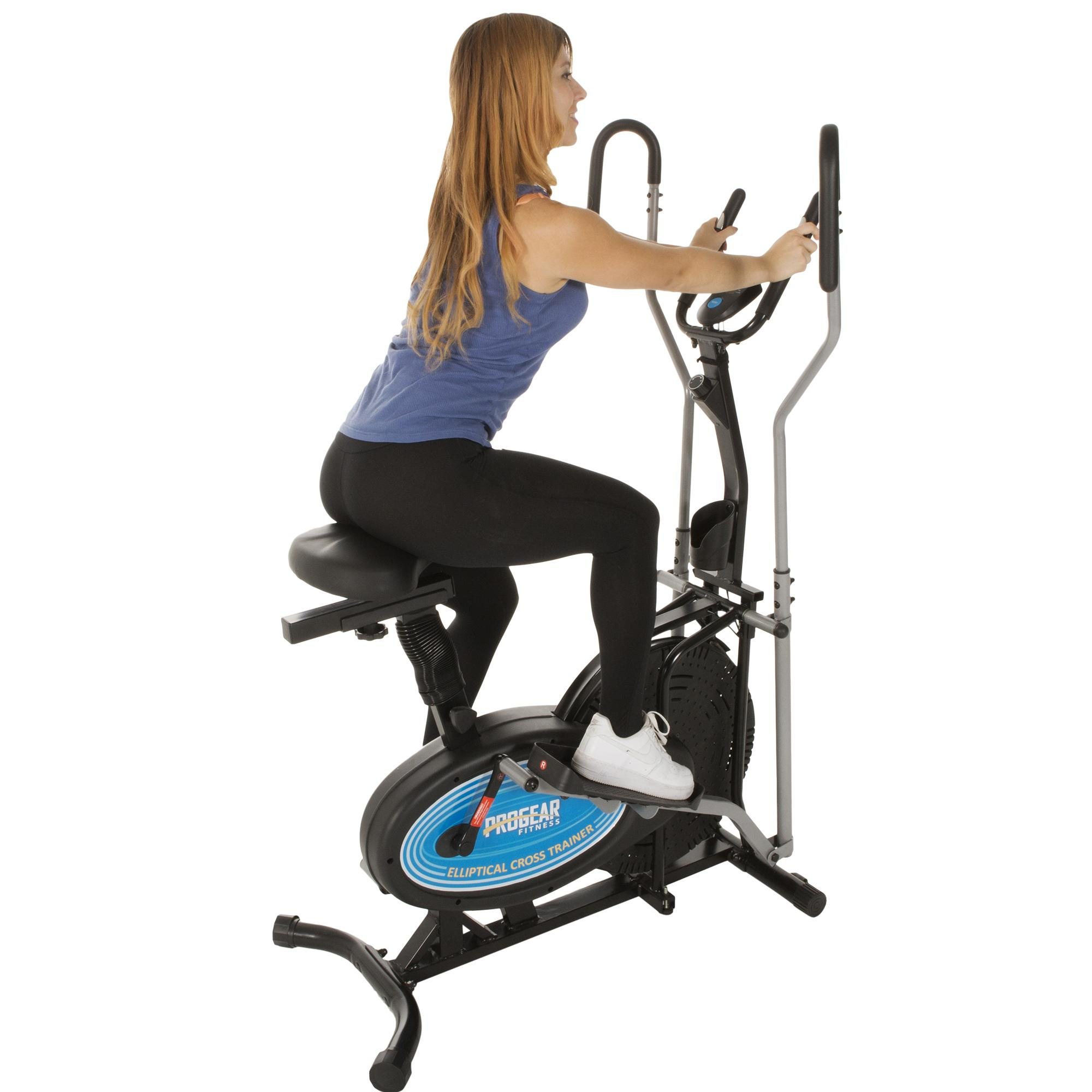 Lifemax Elliptical Bike: Paradigm ProGear 400LS 2 In 1 Air Elliptical And Exercise