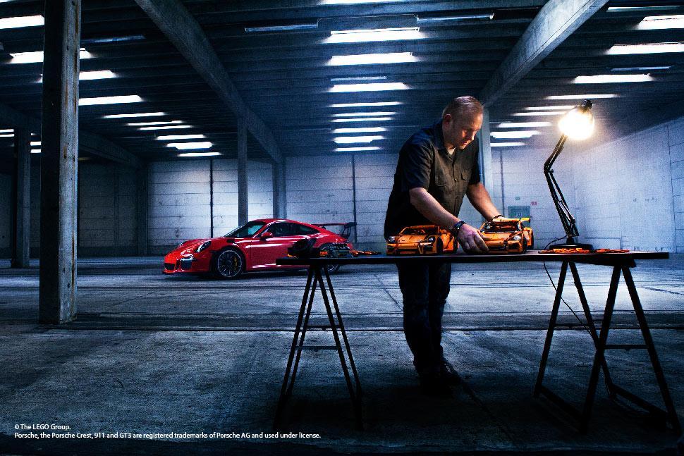 LEGO Technic Porsche 911 GT3 RS 42056 Model, 6 x 22 x 9-Inch ...