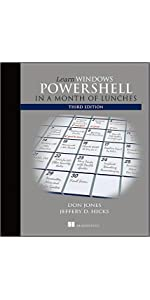 Amazon com: Learn Windows PowerShell in a Month of Lunches