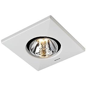 BROAN 162 Type IC Infrared Heater/Fan, 250-Watts, Single Bulb