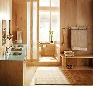 Moen Retreat 24-Inch Bathroom Double Towel Bar - Quick and Easy Installation