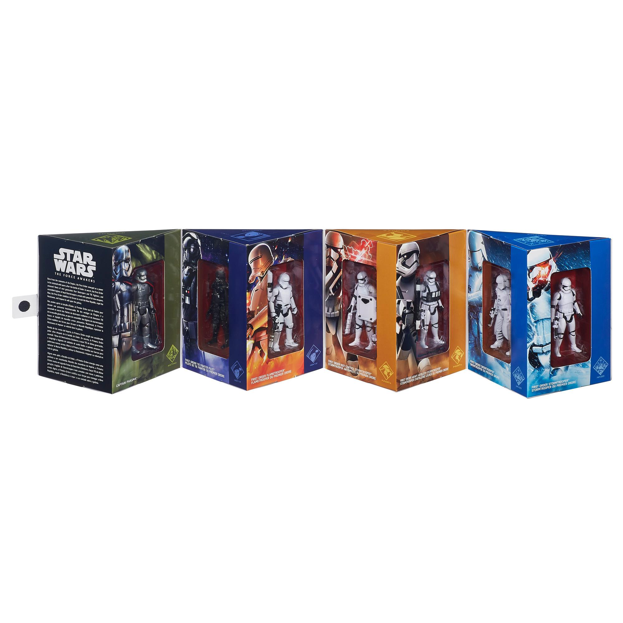 Star Wars The Force Awakens 375 Inch Figure Troop Builderpack