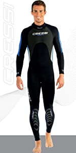 Amazon.com: Cressi Maya - Mens Wetsuit 2.5mm, in Premium ...