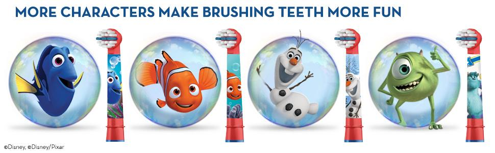 .96 (was .99) Oral-B Kids Rechargeable Electric Toothbrush Featuring Disney & Pixars Cars