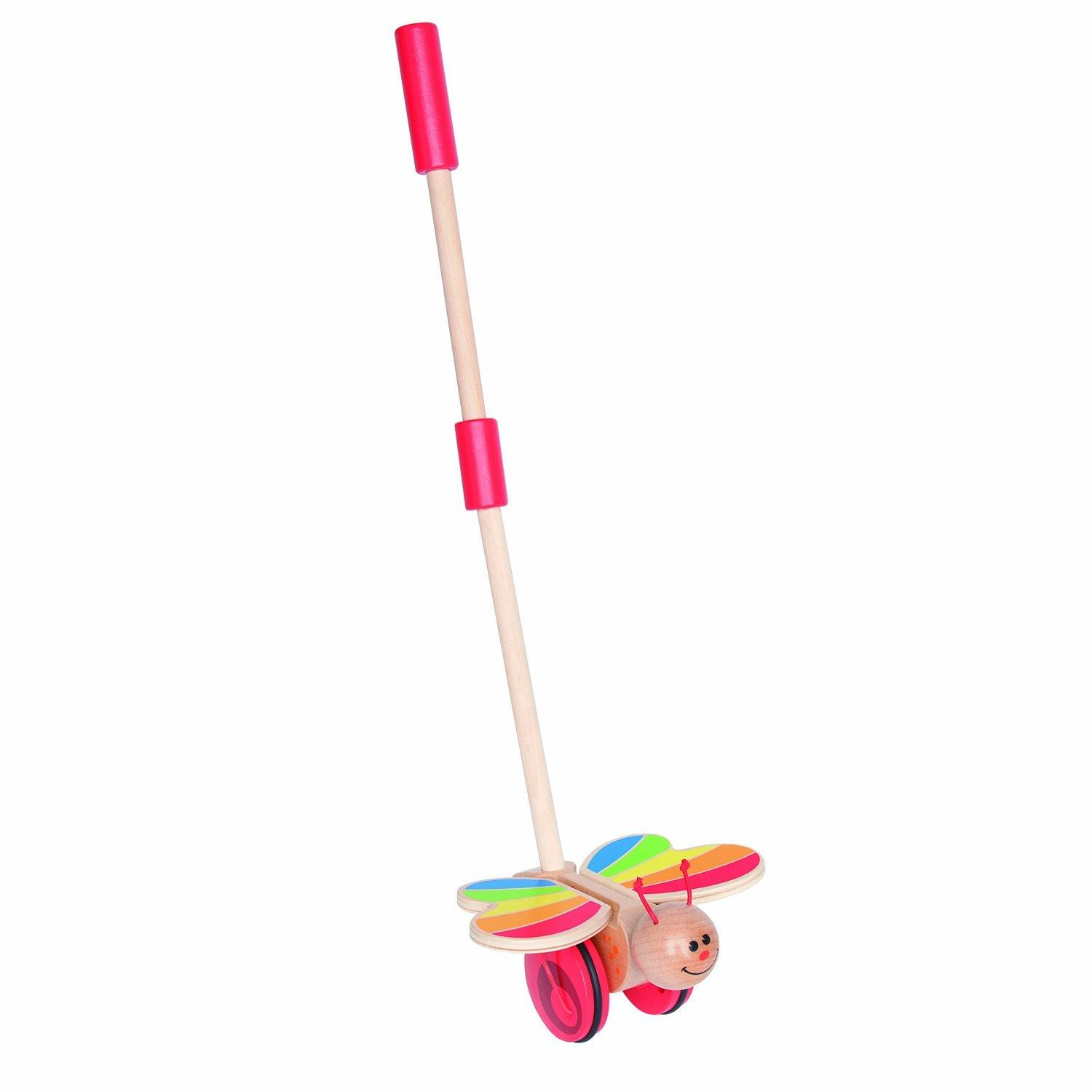 Amazon.com: Hape walk-a-long erizo bebé de madera y ...
