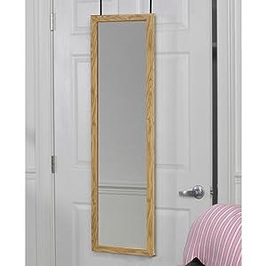 Amazon.com: Espejo Mirrotek DM1448bk sobre la puerta, color ...