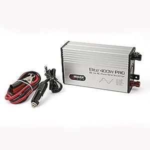 2601 elite 400w 400 watt pro series line inverter invertor pure sine wave clean block AC DC modified