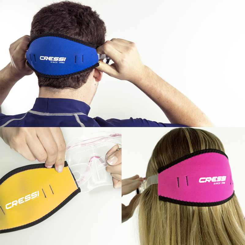 Image result for Cressi Neoprene Mask Strap