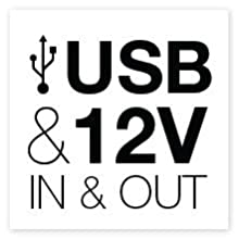 usb recharger, power bank, power pack, 12v power supply, smartphone, iPhone, tablet