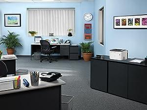 office printer, desktop printer, laser printer, small office printer, compact printer, laser printer