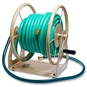 Liberty Garden Products 3 In 1 Garden Hose Reel