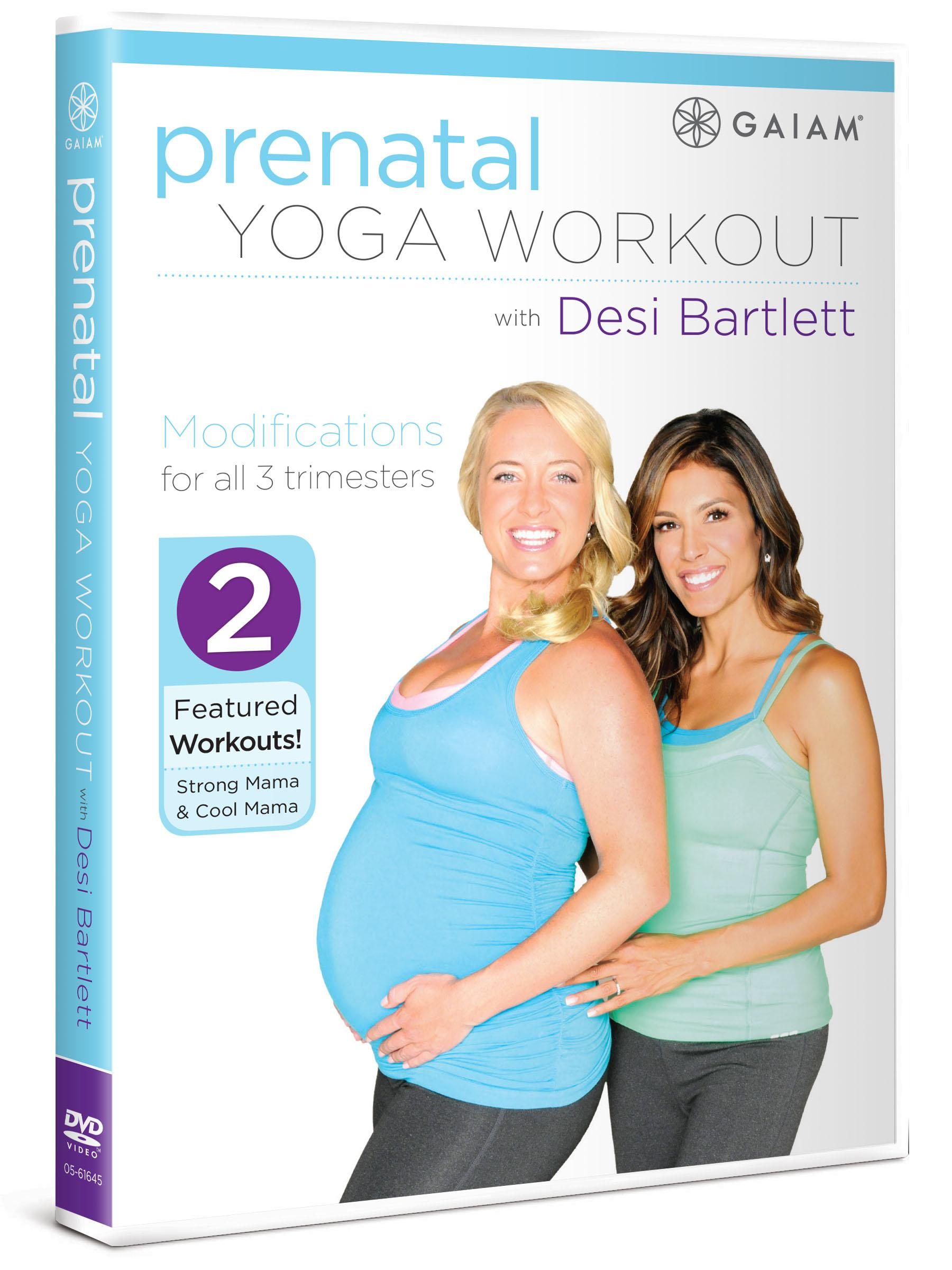 Amazon.com: Prenatal Yoga Workout with Desi Bartlett: Desi ...