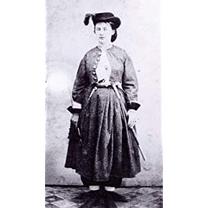 17 year old Belle Boyd in Confederate Garb 1861