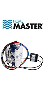 HOME MASTER UNDER SINK REVERSE OSMOSIS SYSTEM PERMEATE PUMP B00N2941T2